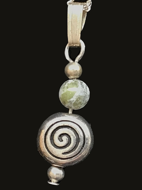 Sterling Silver Celtic Circle Necklace