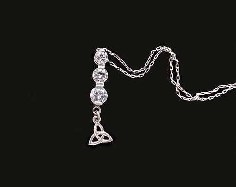 Three Crystals and a Trinity Pendant