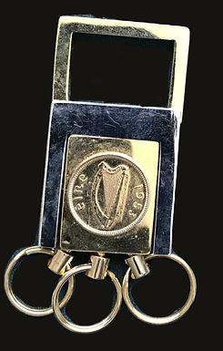 1953 Irish Penny Keyring