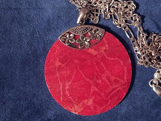 Newbridge Red Pendant