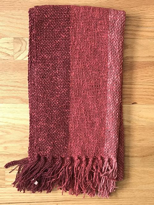John J Murphy Scarf 66 X 12 Cotton Linen Blend
