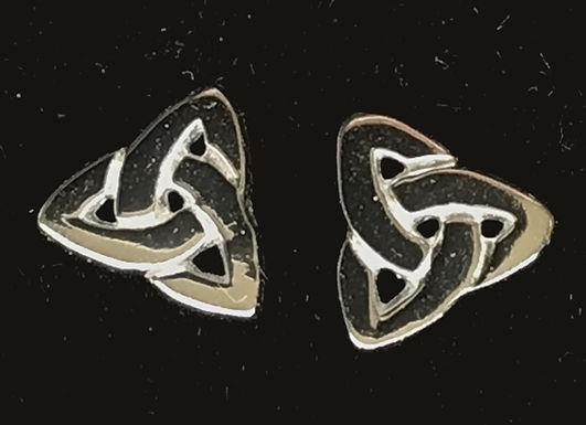Trinity Knot Earrings - Open Design