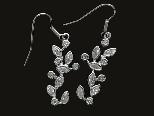 Newbridge Flower Vine Earrings