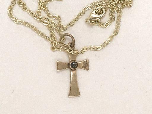 Gold Platted Cross Pendant