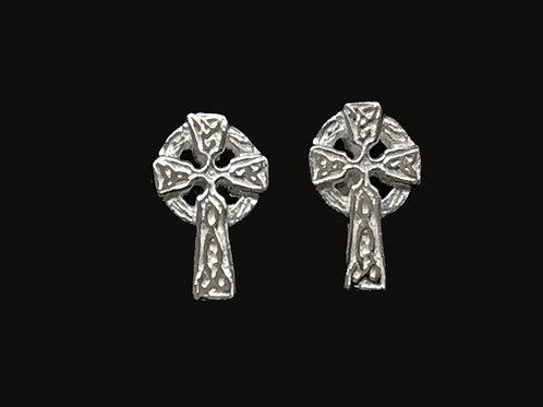 Medium Celtic Cross Earrings