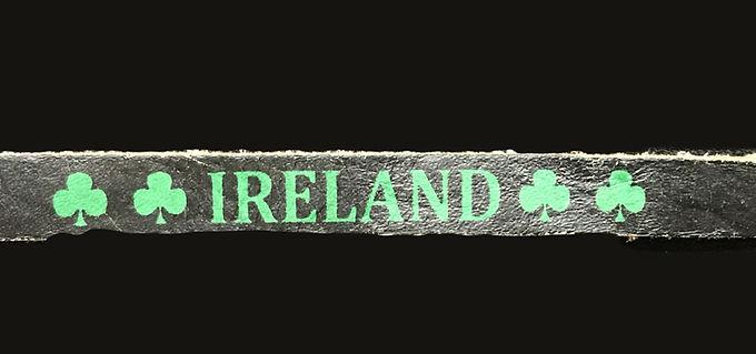 Ireland Leather Wristband