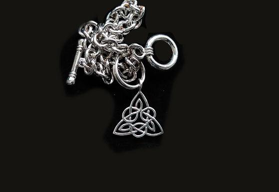 Charm Bracelet with Trinity Knot