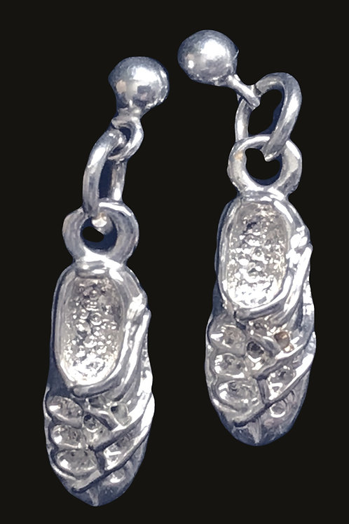 Irish Step Dancing Shoes (Ghillies) Earrings