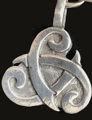 Celtic Legends Pewter Keyring