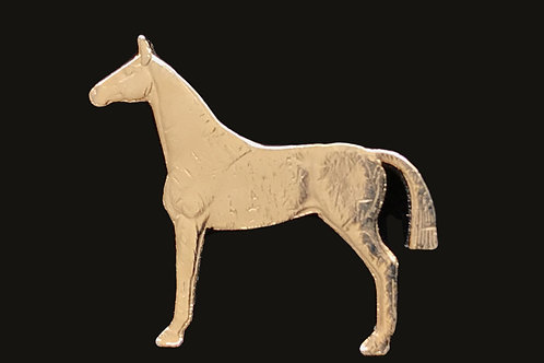 24K Gold Plated Hoarse Tie Pin