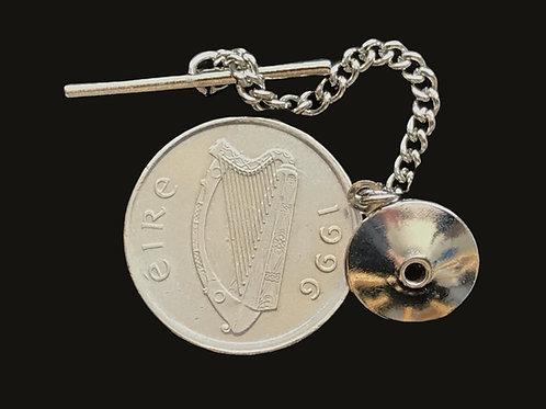 1996 Irish Coin Tie Pin