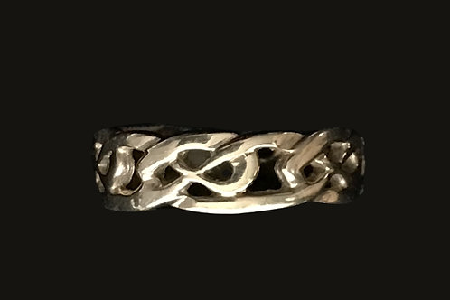 Gold Celtic Knot Band