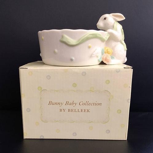 Belleek Bunny Bowl
