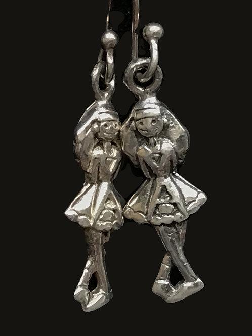 Irish Step Dancer Earrings