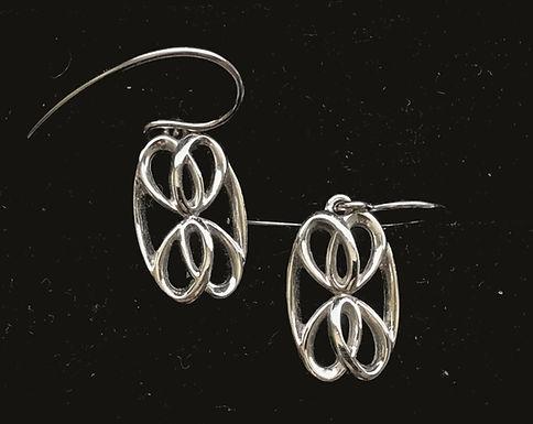 Drop Celtic Earrings