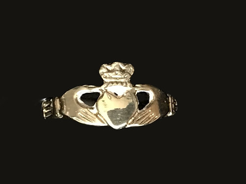 10K Gold Baby Claddagh Ring