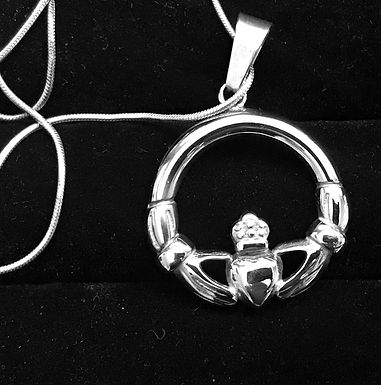 Large Claddagh Necklace