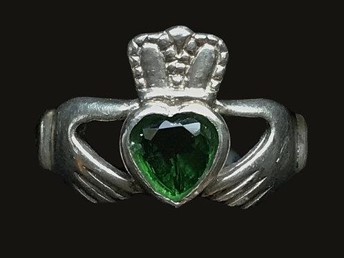 Claddagh Birthstone Ring