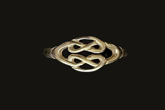 Gold Celtic Infinity Knot Ring
