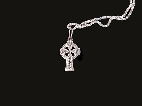 Traditional Celtic Cross with Marcasite