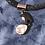 Thumbnail: Newbridge Leather and Crystal Necklace