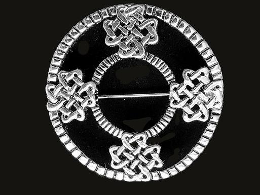 Celtic Knot Work Brooch