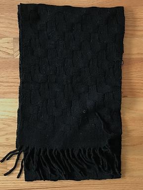 Tivoli Merino Wool Basket Weave Pattern Scarf