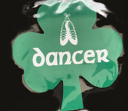 Shamrock Irish Dancer Magnet