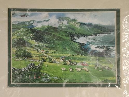 A Shepherd's Farm on the Irish Coast