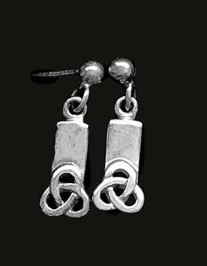 Trinity Knot Earrings Drop Earrings sterling silver