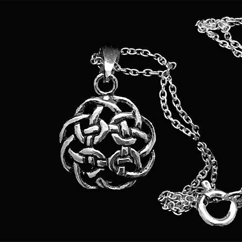 Celtic Knot Circle Pendant