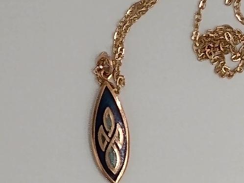Celtic Enamel Necklace