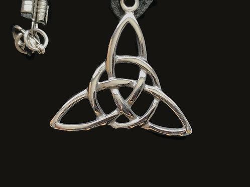 Biker Leather Celtic Necklaces
