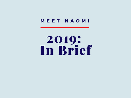 2019: In Brief