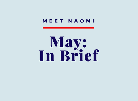 May 2020: In Brief