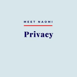 Naomi's privacy practice.