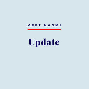 Image reads: Meet Naomi, Update