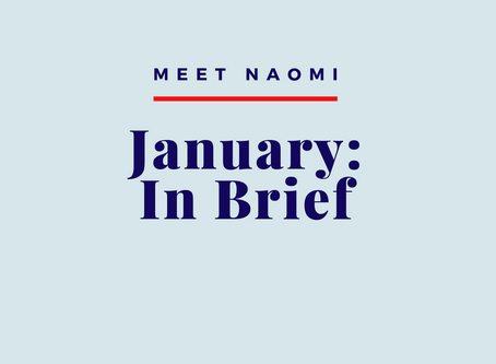 January 2020: In Brief