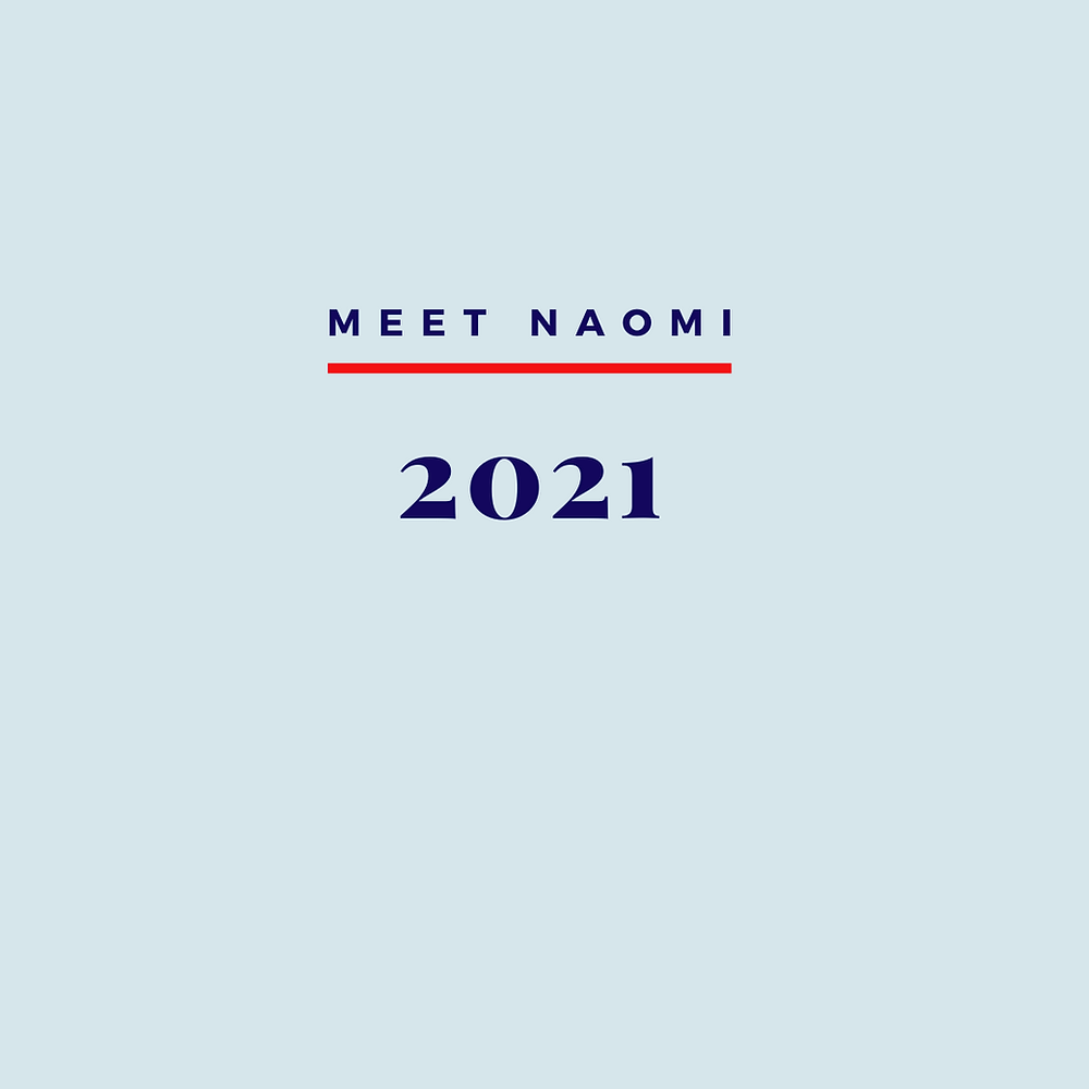Naomi looks forward in 2021.