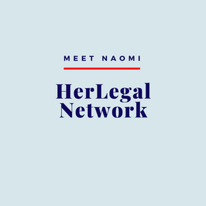 Naomi shares a new initiative called HerLegalNetwork, founded by Thijiba.