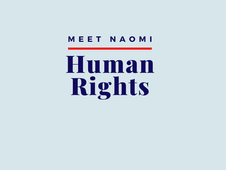 Naomi comments on human rights issues in #LdnOnt