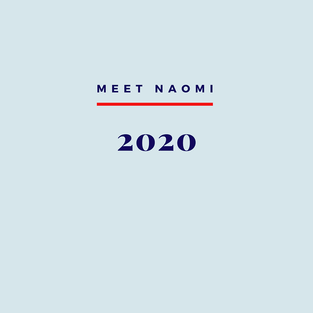 Image is about Naomi's 2020 hopeful outlook.