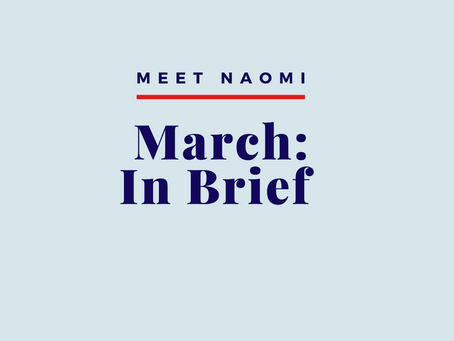 March: In Brief