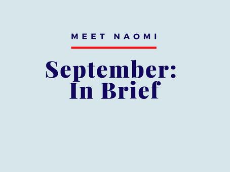 September: In Brief
