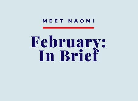 February 2020: In Brief