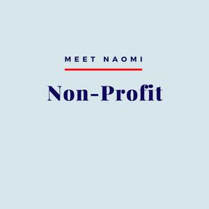 Naomi's non-profit practice.