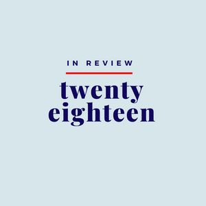 Image reads In Review: 2018