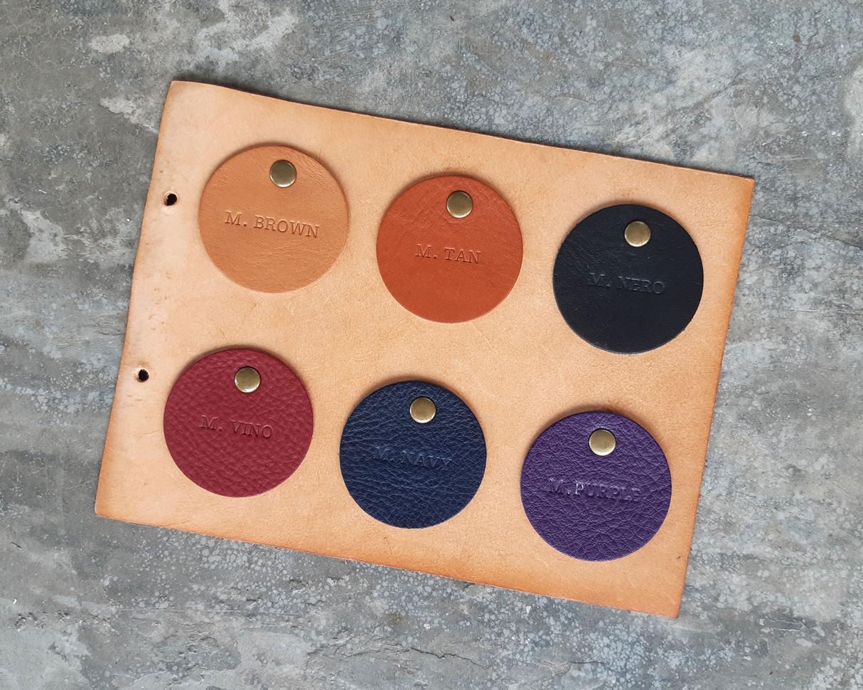 南美摔紋植鞣牛皮 1,6mm-1,8mm