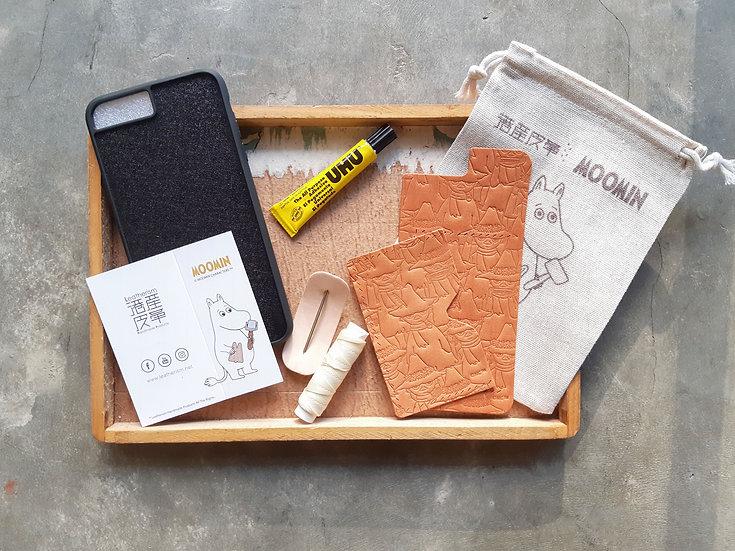 MOOMIN x 港產皮革|密舖史力奇iPhone咭位手機殼