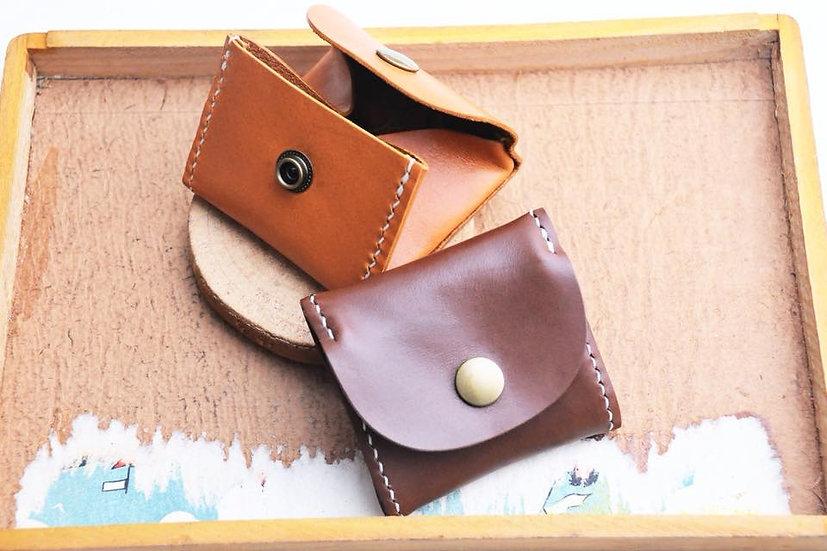 【好好縫】盒形散紙包|皮革D.I.Y材料包